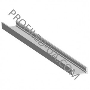 Профиль для светодиодной ленты накладной 31202